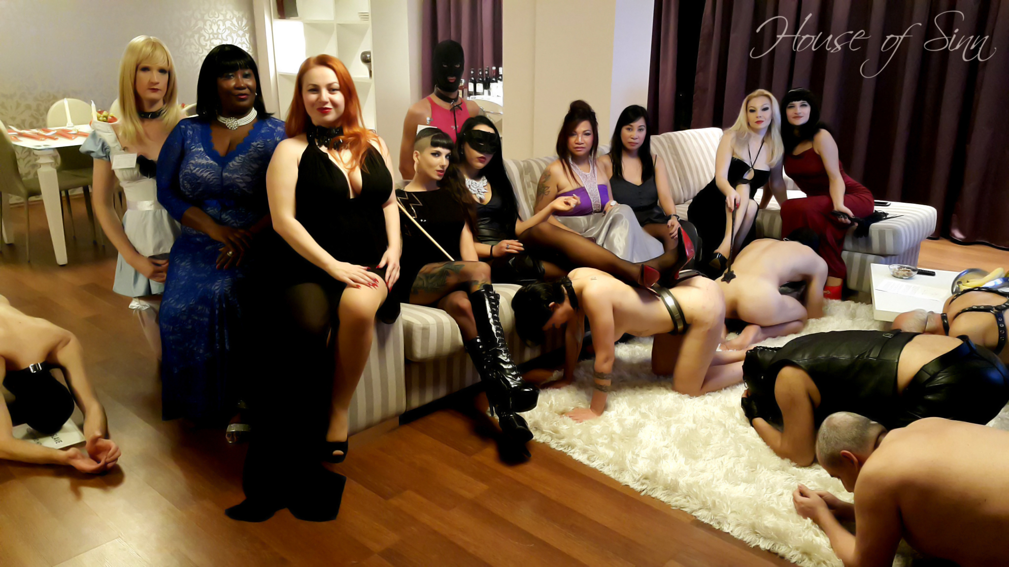 Erotic role playing real time masturbation