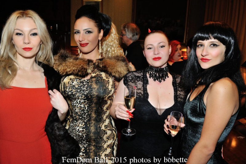House of Sinn ladies Femdom Ball 2015 London